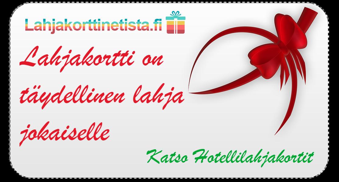 Osta hotellilahjakortti lahjaksi netistä nopeasti & edullisesti - Lahjakorttinetista.fi