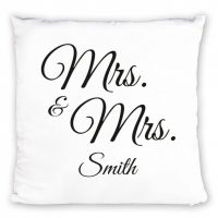 Yksilöitävä Mrs. & Mrs. tyyny 19,90€